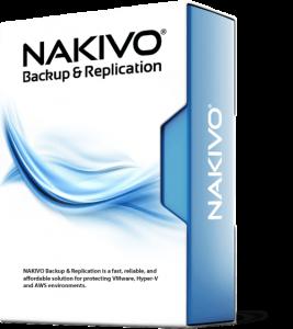 Програмний продукт NAKIVO Backup & Replication